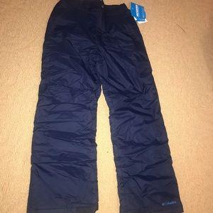 Columbia Navy Snow/Ski pants